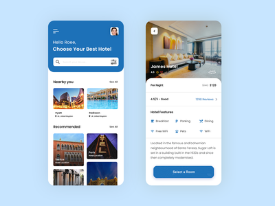 Hotel And Resort Booking App ux ui uiux online resort booking on-demand app app app design app development on-demand app development online hotel booking resort booking app hotel booking app hotel app