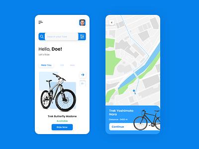 Bicycle on rent uiux ux app ui mobile app design appdesign app development app development company app online bicycle booking bicycles on-demand bicycle renting app online bicycle renting bicycle renting app bicycle app