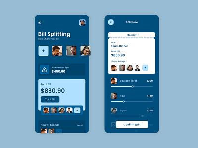 Bill Splitting App invoice splitter app design invoice splitter app design invoice splitter app invoice splitter app