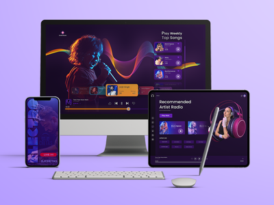 Music App UIUX app userinterface musicappdesign design app design on demand app music musicapp app development uiux ux ui