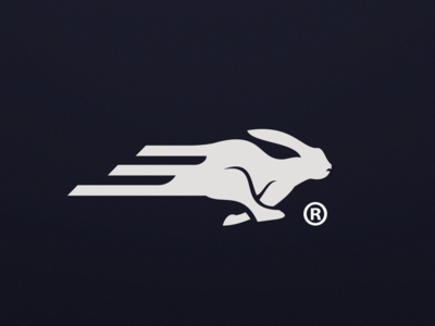 Run logo concept