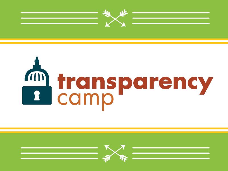 TransparencyCamp 2014 camp branding sunlight foundation
