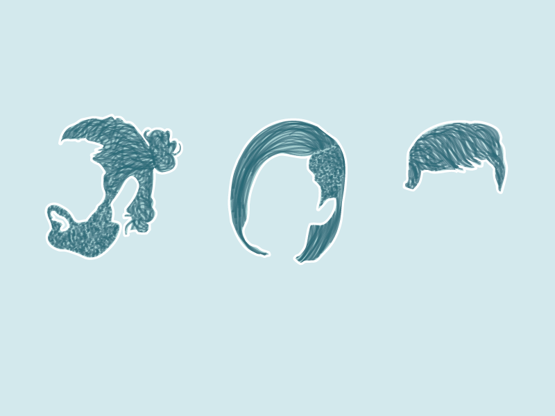 Hairstyles of 2015 infoviz illustration hairstyle trump manbun