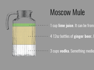 Boozy punch data viz halftone cocktail data illustration info viz data viz bar chart