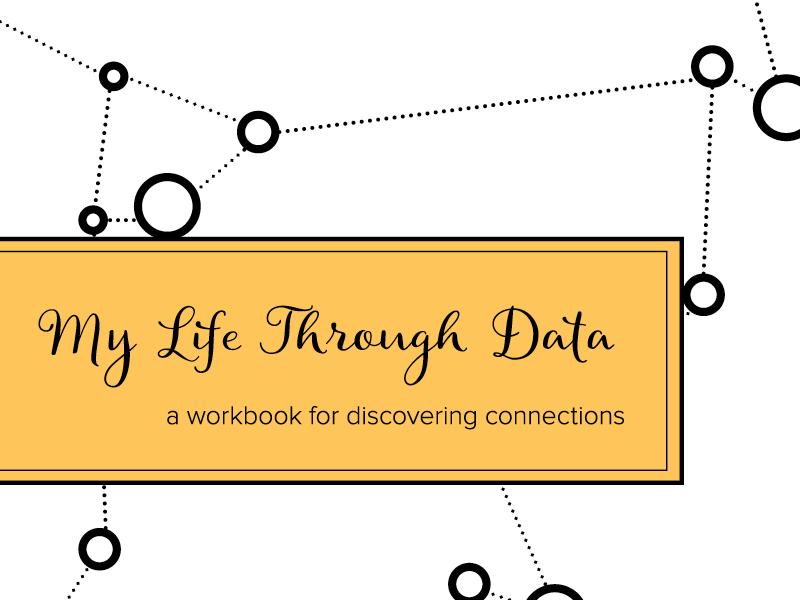 My Life Through Data composition notebook connection journal data workbook