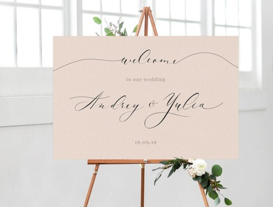 Calligraphy | Wedding