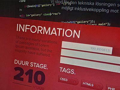 Single page layout single page scroll paper internship design development jquery css3 web design