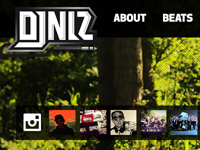 DJ NLZ webdesign producer development