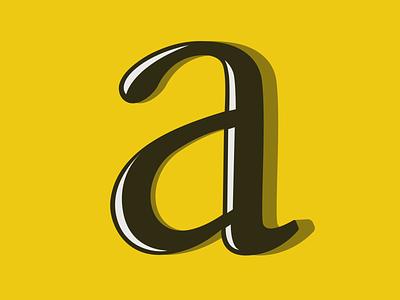 A vector lettering illustration