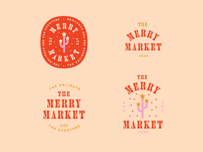 Merry Market cactus merry market holiday christmas