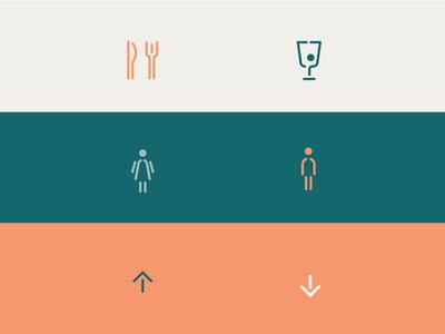 Understory wayfinding icons