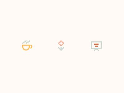 Cutie Amenity Icons