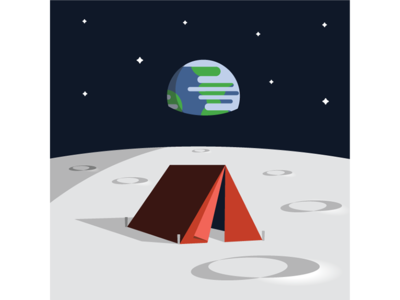 Camp on the Moon