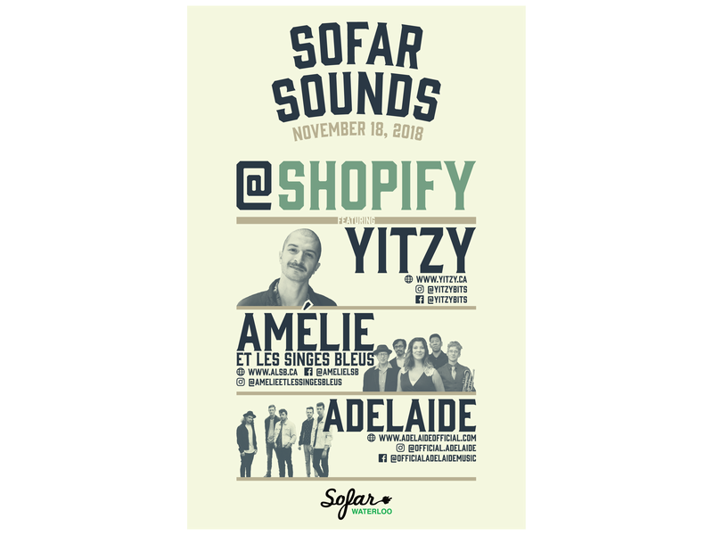 SoFar Sounds Waterloo - Shopify shopify sofar concert music poster