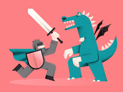 Battle shield battle sword costume party dragon knight vector people illustration flat digital design color characterdesign
