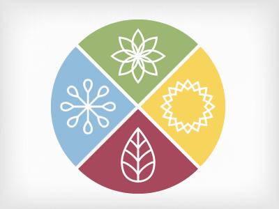 Seasons icons seasons