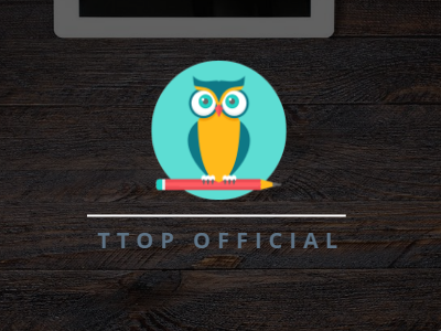 Ttop Visual Identity minimalist simple colorful identity logo