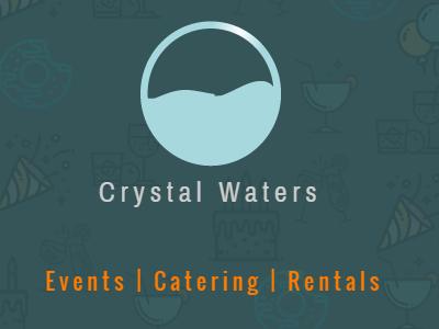 Crystal Waters Bcf1r1 card minimalist simple colorful identity logo