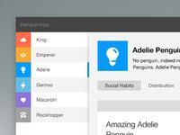 Web app concept
