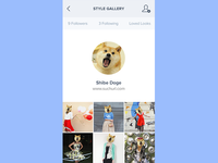 Style gallery profile