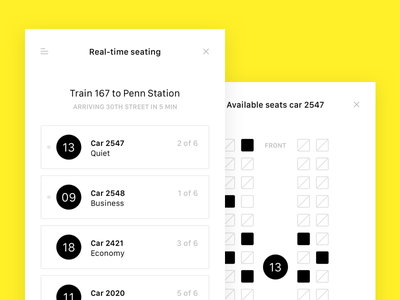 Travel app exercise wires train travel mobile app