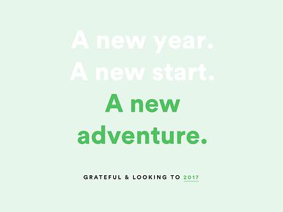 Twenty-sixteen you're so cute adventures 2016 typography