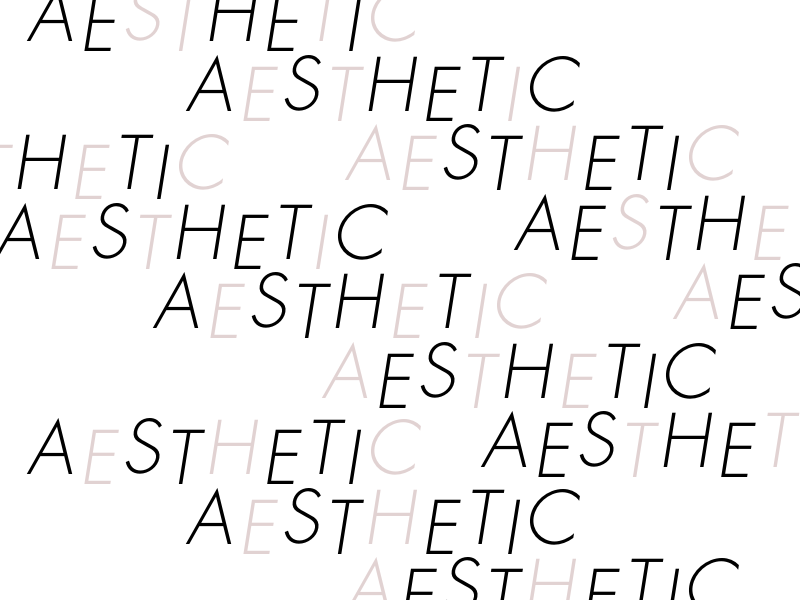 Type patterns futura typography type pattern