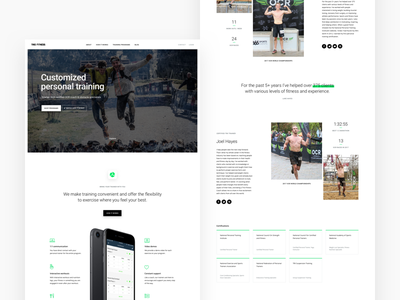 Trio 2.0 spartan ocr exercise website personal training