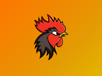 El Gallo esports logo mascot logo esports mascot esports vector logo