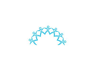 Together We Learn Español logo type clean brand icon minimal illustration flat design vector logo