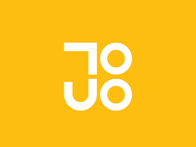Juabos Logo graphic design typography flat vector design branding logo
