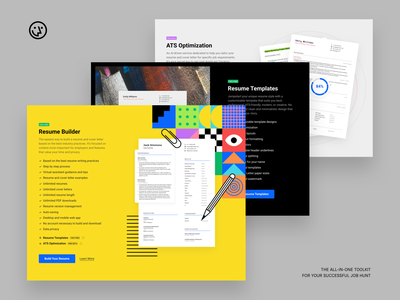 Wozber Services templates ats resume cv landing page product services website wozber