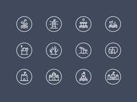Savaitgalis Logos / Icons