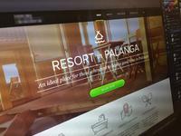 Resort in Palanga landing page