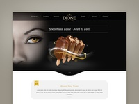 Dione Landing Page