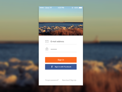 Sign In ios7 deiv download psd free ui buttons sign in login apps
