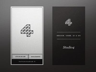 Studio4 cards business cards print mockup lines studio4 deiv frame