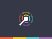 Playgong logo wip playgong gong android l games deiv social material design logo icon colors