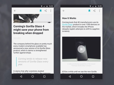 technologijos.lt reader deiv feed ui nexus 5 android material design app news