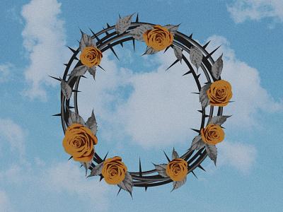 36daysoftype_O sky thorns petals roses o 36daysoftype