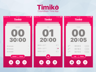Timiko - Countdown Time App Exploration