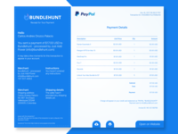Paypal Email Receipt