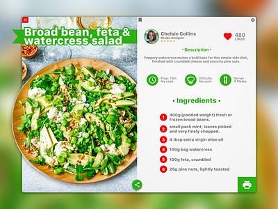Vegetarian Food Recipes uxdesign exploration experience user recipe trend design ui sketch sketchapp uidesign ux