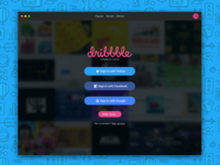 DailyUI Challenge # 001 - Sign Up (Hot Shot 2)