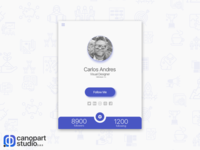 DailyUI Challenge # 006 - User Profile