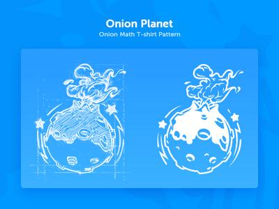 Onion Math T-shirt Pattern