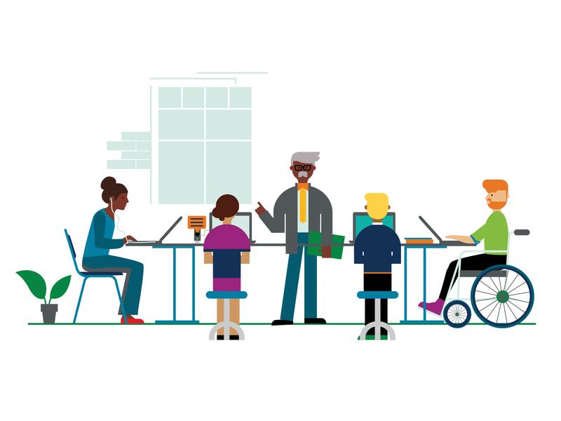 Accessibility Illustration