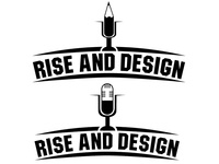 Rise And Design Podcast logo work in progress