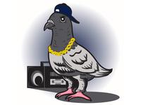 Hip Hop Pigeon