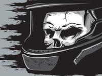 Skull Racer Dribbble